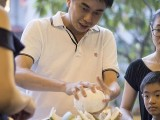 Pianovers Meetup #131 (Mid-Autumn Themed), Team 3, Hong Ghee's father, Hong Ghee, Show Peng