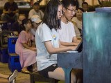 Pianovers Meetup #132, Wang Yiting, and Wang Yifei performing
