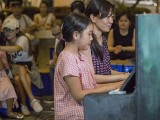 Pianovers Meetup #132, Joanne Tan, and Fion Teo performing