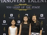 Pianovers Talents 2019, Claira Poh Wen Xuan, her sister, and Tan Phuay Ying Pauline