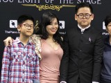 Pianovers Talents 2019, Xavier Hui, April Wong, his brother, and his grandmother