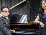 Pianovers Talents 2019, Xavier Hui, and Hoang Thanh (Vivian)