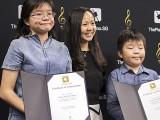 Pianovers Talents 2019, Wong Jing Yi Valerie, Tan Phuay Ying Pauline, and Wong Tai Xiang Aidan