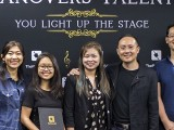 Pianovers Talents 2019, Winny Turnady, Erika Iishiba, Elyn Goh, Sng Yong Meng, and Hiro