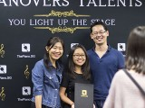 Pianovers Talents 2019, Winny Turnady, Erika Iishiba, and Hiro