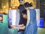 Pianovers Meetup #137 (Halloween Themed), Tey Aik Han, Xavier Hui, and Grace Wong