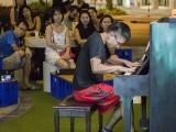 Pianovers Meetup #137 (Halloween Themed), Hiro performing
