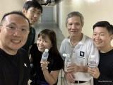 Pianovers Meetup #138, Sng Yong Meng, Jonathan Lam, Elyn Goh, Albert Chan, and Will Liang