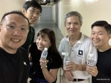 Pianovers Meetup #138, Sng Yong Meng, Jonathan Lam, Elyn Goh, Albert Chan, and Will Liang