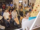 Pianovers Meetup #143, Amelia Pang performing