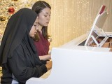 Pianovers Meetup #143, Aini, and Chloe Lee performing