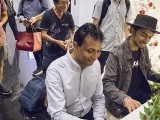 Pianovers Meetup #144, Peter Prem, and Joshua Peter playing