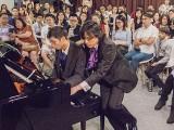 Pianovers Recital 2019, Jonathan Lam, and Teh Yuqing performing #3
