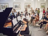 Pianovers Recital 2019, Joshua Peter, Jasmine Khoo, Corrine Ying performing
