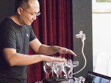 Pianovers Recital 2019, Sng Yong Meng with glass harp