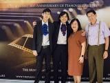 Pianovers Recital 2019, Jonathan Lam, Teh Yuqing, and his parents