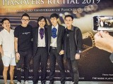 Pianovers Recital 2019, Jonathan Lam, Teh Yuqing, and his friends #2