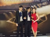 Pianovers Recital 2019, Jonathan Lam, Teh Yuqing, and his friend