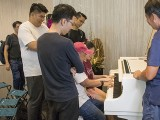 Pianovers Meetup #146, Peter Chin playing
