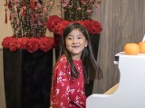 Pianovers Meetup #147 (CNY Themed), Chloe Cai getting ready