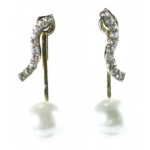 Pearl Gold Ear Ring