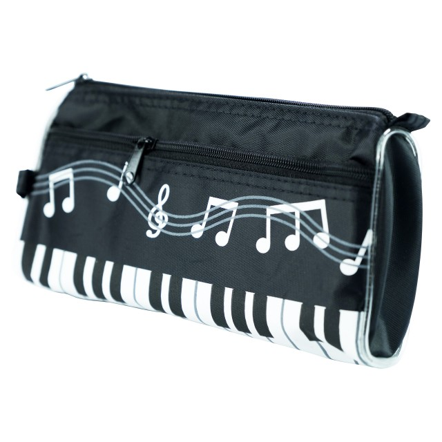 Canvas Pencil Bag (Black)