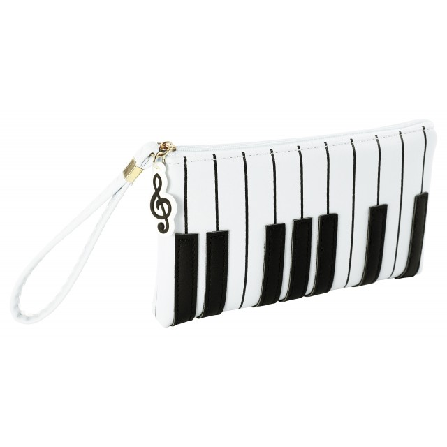 Long Clutch Bag (White)