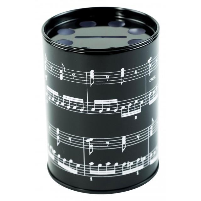 Round Musical Pen Holder
