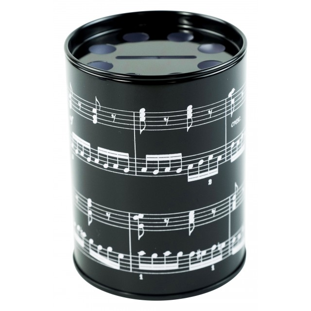 Round Musical Pen Holder