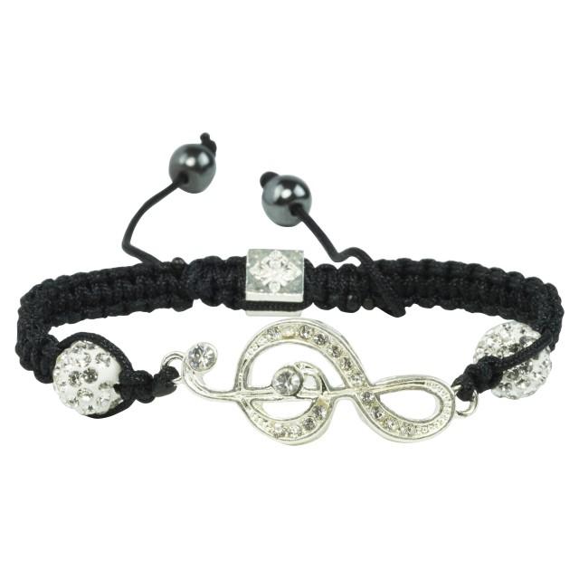 Music Crystal Strand Bracelet