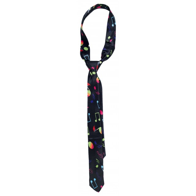 Colourful Musical Notes Tie