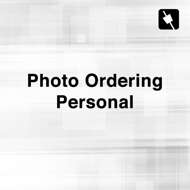 Photo Ordering (Personal)