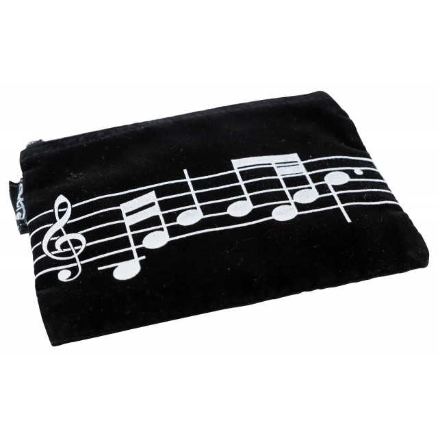 Music Note Coin Pouch