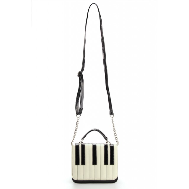 Square Piano Chain Bag