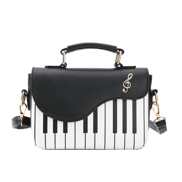 Small Keyboard Stripes Shoulder Bag
