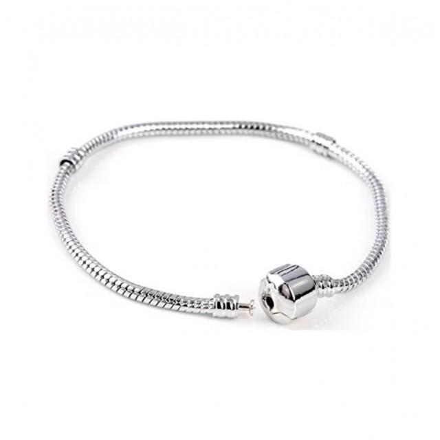 Silver Snake Chain Bracelets