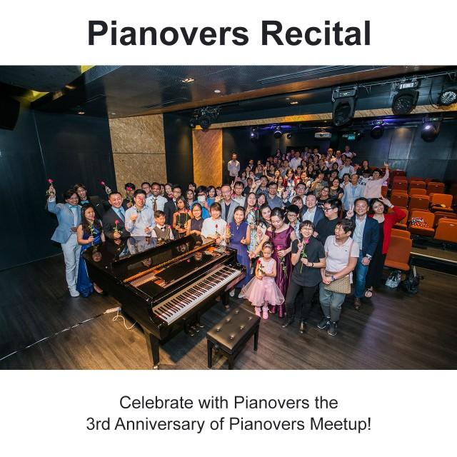 Pianovers Recital 2019
