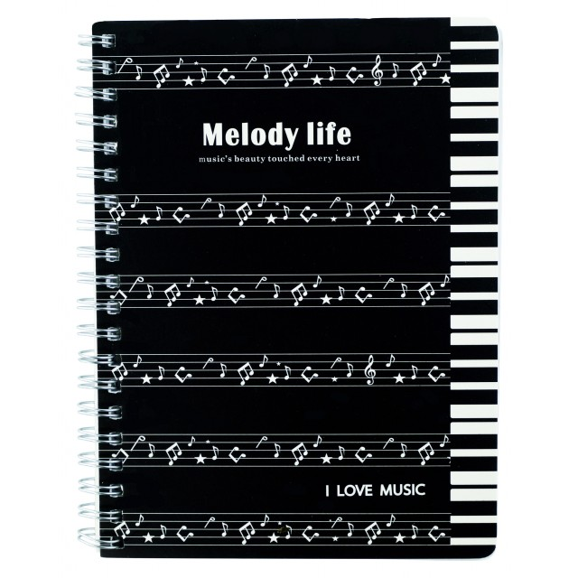 Music Note Softcover Exercise Book A5