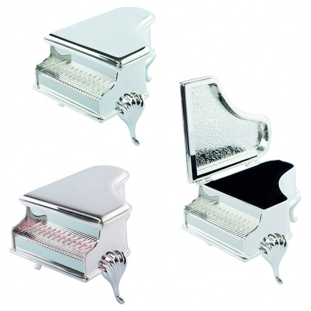Piano Shaped Jewellery Box