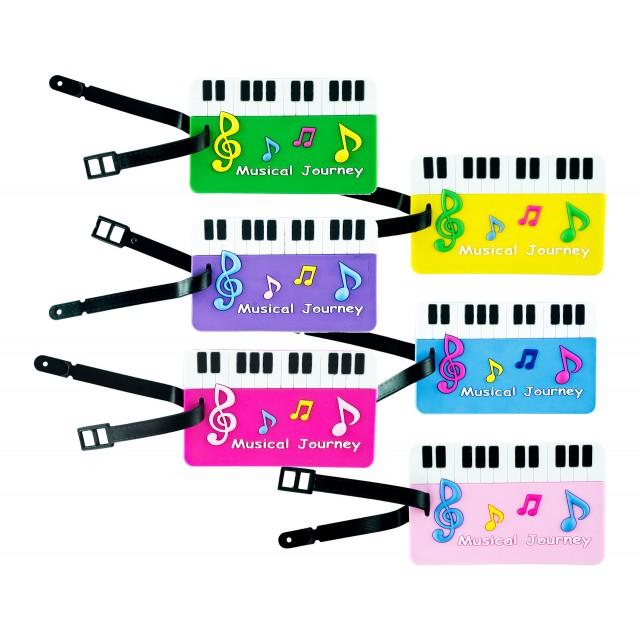 Colourful Baggage Tag