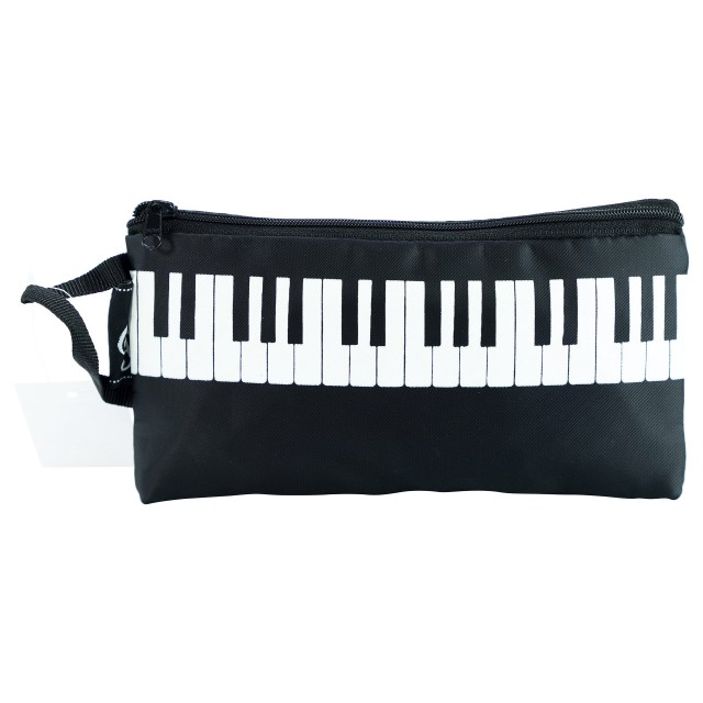 Rectangular Black Pencil Pouch