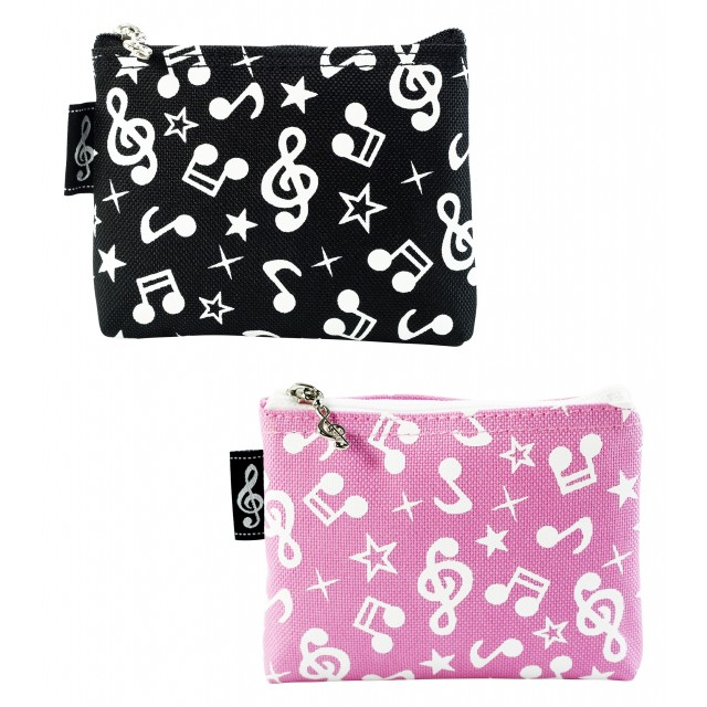Music Notes Star Coin Purse