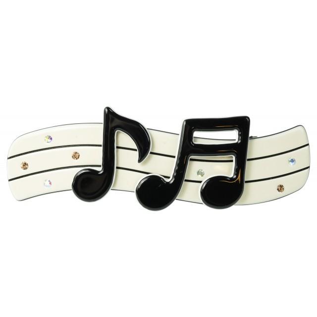 Music Note Hair Clip