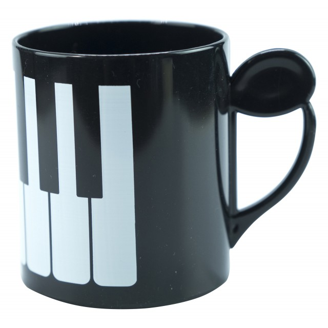 Piano Plastic  Mug