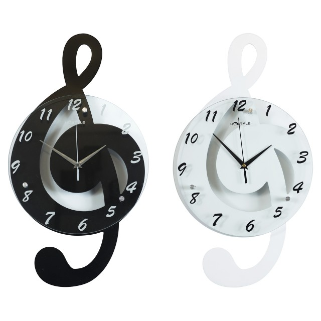Music Notes Wall Clock