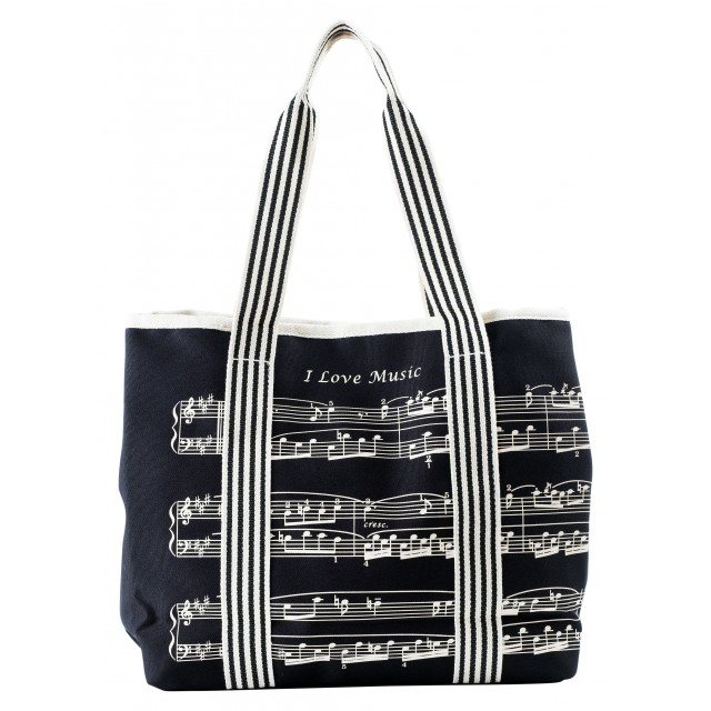 Music Canvas Bag