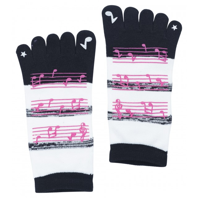 Music Note Toe Sock