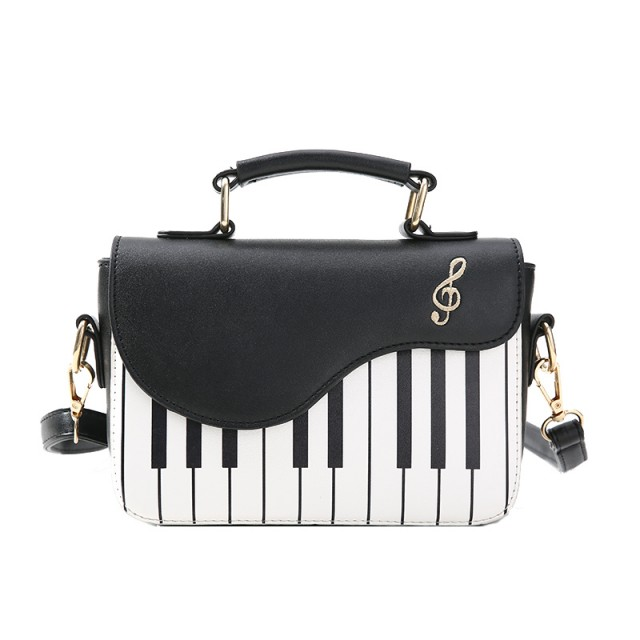 Small Keyboard Stripes Shoulder Bag