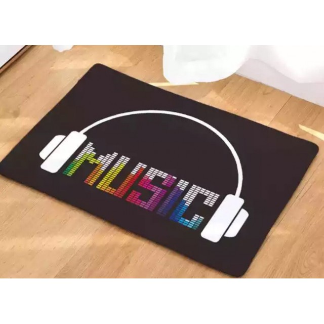 Music Headphone Floor Mat