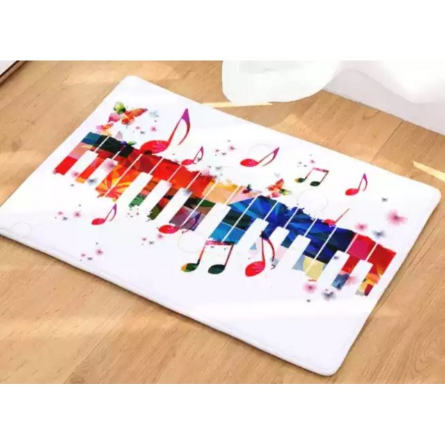 Musical Notes Floor Mat